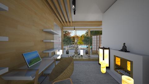 Zen_home office2 - Office  - by lovasemoke