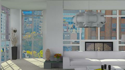 above the city line_2 - Minimal - Living room  - by lilica