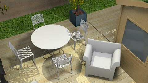 Outdoor Living - Minimal - Garden  - by Minneapolis Mod