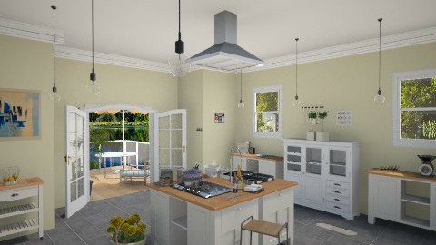 Melody - Modern - Kitchen  - by Sali15