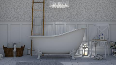 Shabby Chic  - Feminine - Bathroom  - by Lotaria
