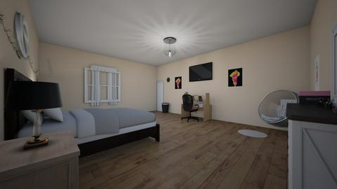 Bedroom - Bedroom - by wences116