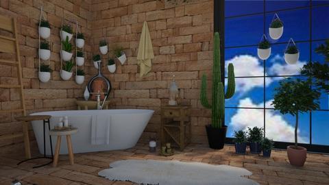 Cactus bathroom - Bathroom - by neve113
