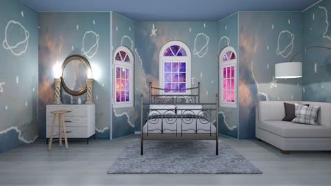 moonlight bedroom - Global - Bedroom  - by aschaper