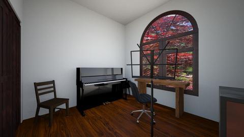 Office Layout  Steve 2 - Office - by Bebin