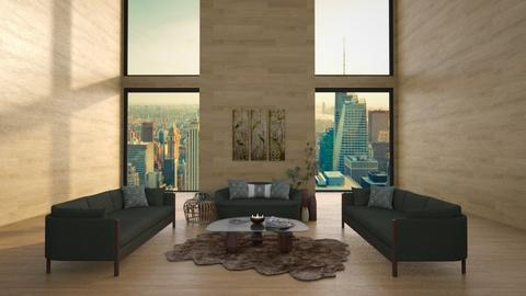 Penthouse - Living room  - by aggelidi 12312
