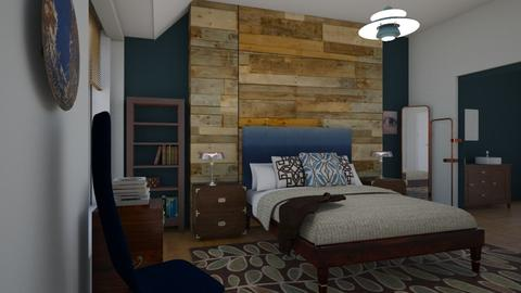 Accent pillows - Modern - Bedroom  - by Tree Nut