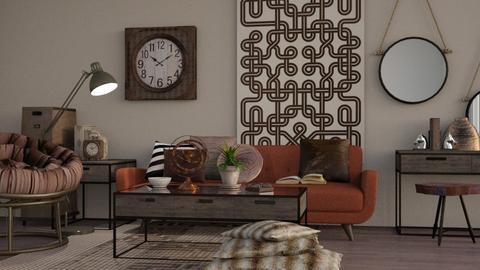 Rustic - Modern - Living room  - by Gurns