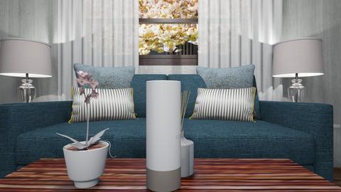 8 x 40 420sf v - Vintage - Living room  - by decordiva1