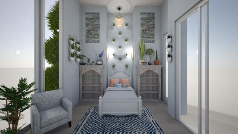 Garden Wonderland  - Rustic - Bedroom  - by Avery McCaffrey