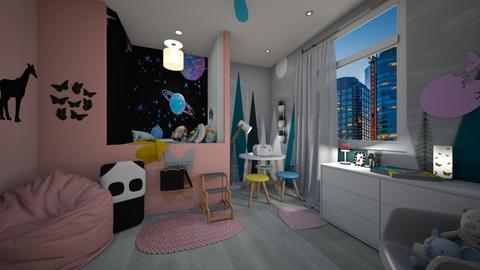 small child bedroom - by i123qwerty