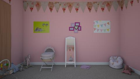 Baby Girl Boho style - Retro - Kids room  - by ashley0999