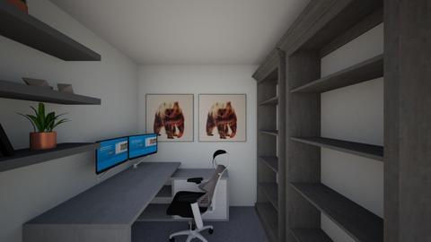 Office design - Modern - Office  - by gmcbain