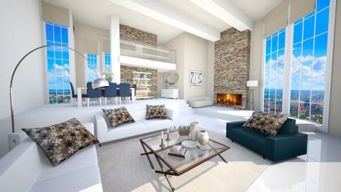 home IV - Modern - Living room  - by Senia N