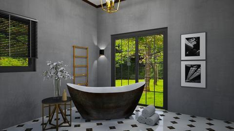 Bathroom Art deco - Bathroom  - by Ontwerpstudio34