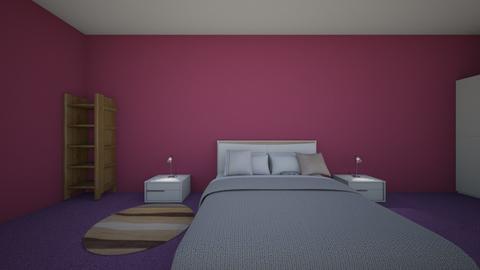 The 1 girl like bedroom - Modern - Bedroom - by Fareedah