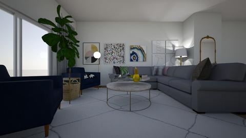 Comfortably Chic - Glamour - Living room - by uananaba