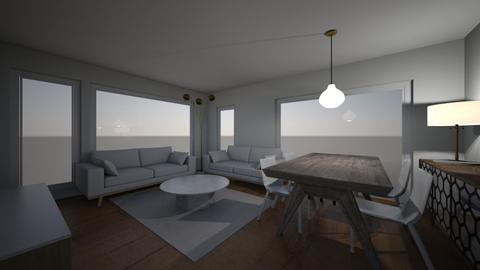 Salon - Modern - Dining room  - by Ewwe72