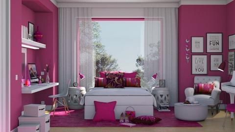 450 - Feminine - Bedroom  - by Claudia Correia