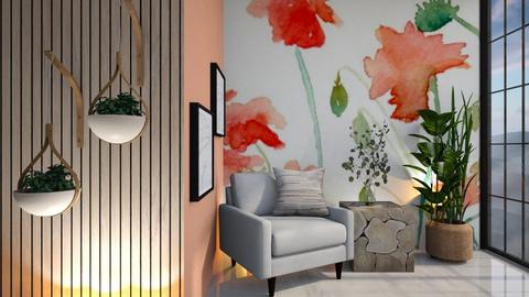 Ilaria - Living room  - by Meghan White