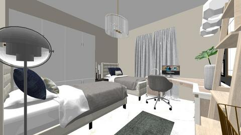 2  boys bedroom - Classic - Bedroom - by 078