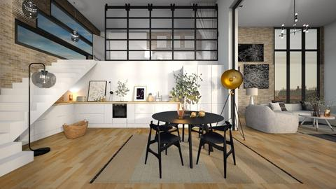 Remix_newhouse_diegobbf - Living room  - by MiaM
