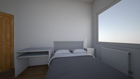 Iwaszkiewicza_Olawa_Syp3 - Bedroom  - by mbanikzakupy