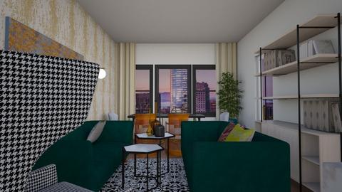 MB 9f1 apartment - Glamour - by Raymond Hill_Crate and Barrel_SFCA