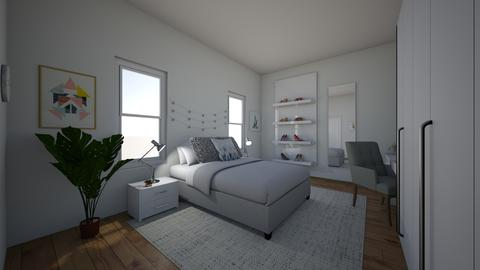 Clean and Simple - Bedroom - by marac137