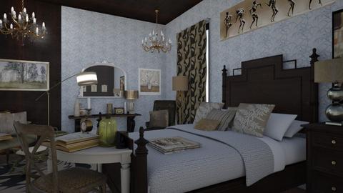 Fancy Bedroom - Classic - Bedroom  - by XiraFizade
