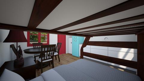 Tiny Cabin 4 - Bedroom  - by SammyJPili