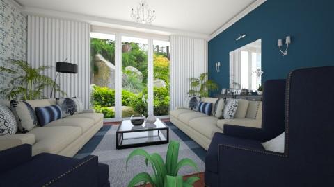 New Living Room View - Minimal - Living room  - by Ejad Shukri