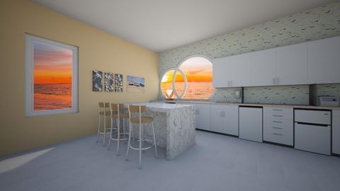 Beach kitchen - Kitchen  - by HolyMoly484