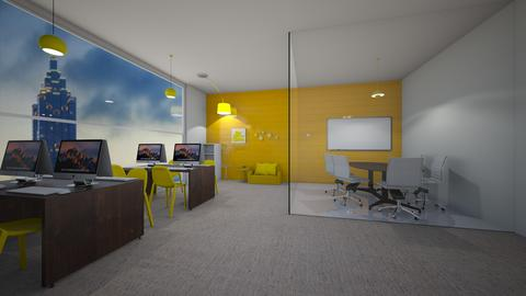 Yellow Office - Office  - by alondra08