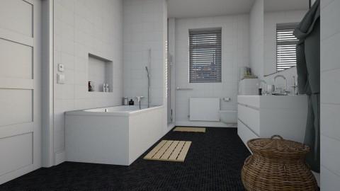 Apartment bathroom - Bathroom  - by MandyB84
