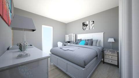 Amanda Bedroom - Glamour - Bedroom  - by amandaescobarxo