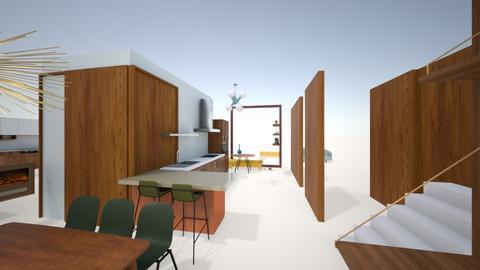 keuken _ nieuw_4_eettuin - Kitchen  - by iene