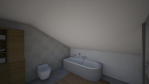 velika kupaona - Bathroom - by mirkazeljkovic