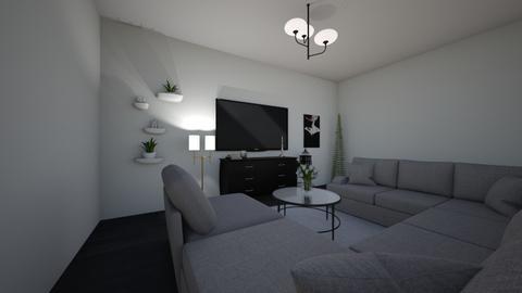 Living Room - by mahasiswa