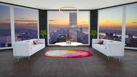 sunset - Minimal - Living room  - by annator