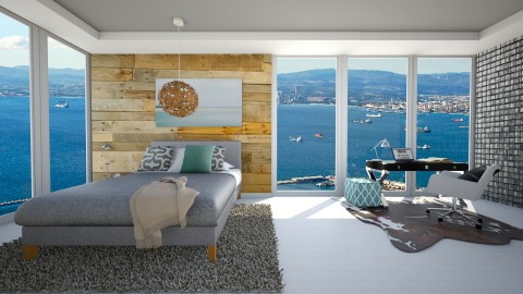 Hotel with Great View - Modern - Bedroom  - by bgref