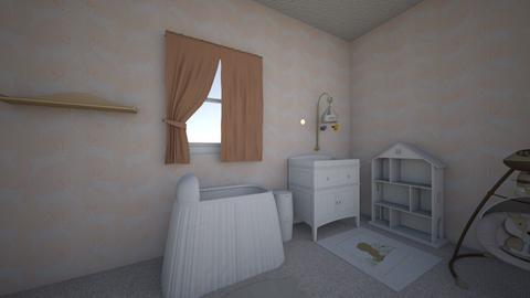 nursery1 - Feminine - Kids room  - by PeculiarLeah