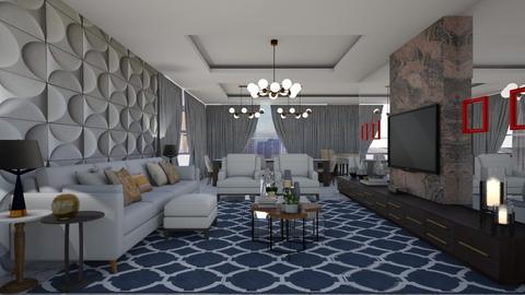 Colman - Living room - by aletamahi