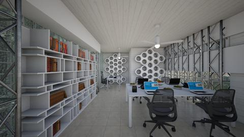 Beehouse Inspired Office - Office  - by Tupiniquim