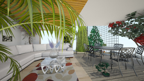 room garden 1 - Classic - Living room  - by Boka i Deki
