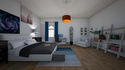 My Room - Country - Bedroom  - by Gouri Renjith