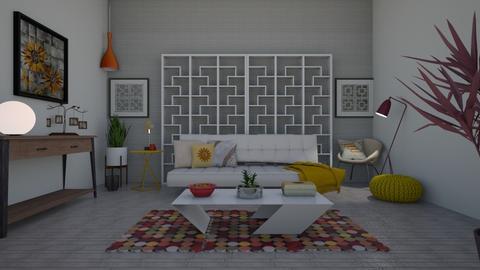 Mid Century Modern - Living room  - by Anna Neeb