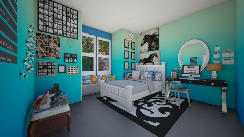 Tumblr Teen Bedroom 9TH - Country - Bedroom  - by kbosse