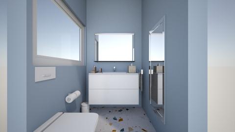 Guest bathroom 1 - Bathroom - by tora97