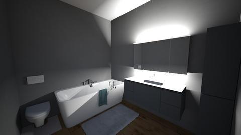 witam - Bathroom  - by Sztuciek